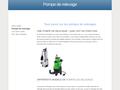 Détails : Guide de la pompe de relevage