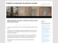 Détails : Restaurateur de peinture murale .Restauration et restitution en peinture murale, fresque