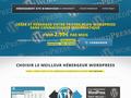 Détails : Hébergement Wordpress sécurisé