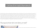Détails : Agence immobiliere Marrakech