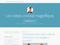 Détails : robe de cocktail pas cher-persun.fr