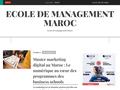Détails : École de gestion maroc
