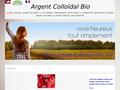 Détails : Argent colloïdal antibactérien bio