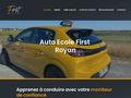 Détails : Auto Ecole First : permis catégorie A, B & remorque à Royan en Charente-Maritime (17)