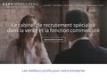 Détails : Cabinet de recrutement spécialisé dans les fonctions commerciales