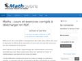 Détails : Les mathématiques à vos cotés