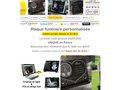 Détails : Plaques funeraires personnalisables musique