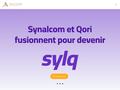 Détails : Synalcom, ventes et prestations monétiques