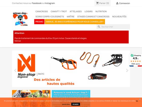 image du site http://acticani-shop.fr/fr/
