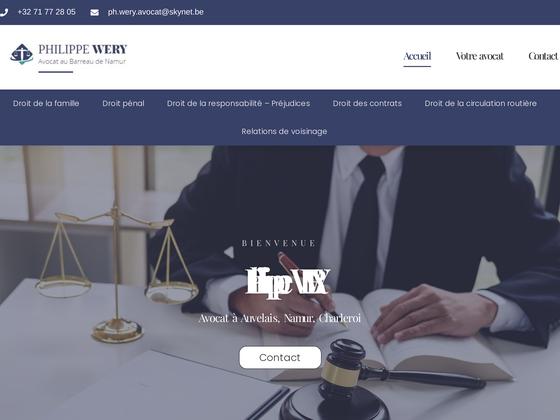 image du site http://avocat-wery.be