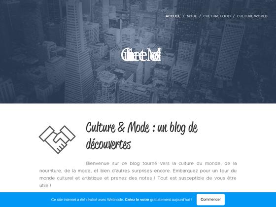 image du site http://culture-et-mode.webnode.fr/
