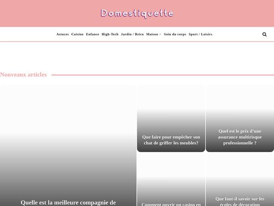 image du site http://domestiquette.net/