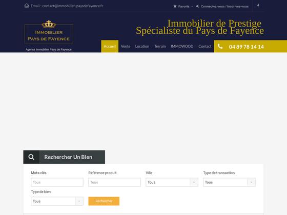image du site http://immobilier-paysdefayence.fr/