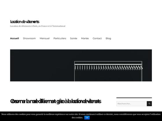 image du site http://locationvetements.fr/