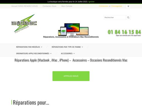 image du site http://madmac-informatique.fr/