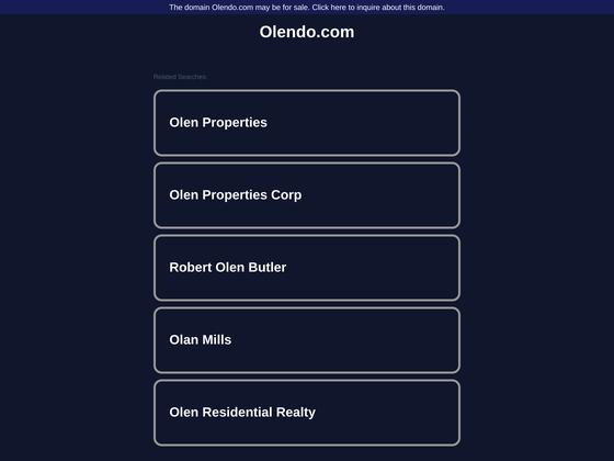 image du site http://olendo.com/