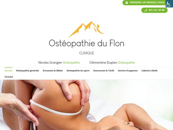 image du site http://osteopathelausanne.com/