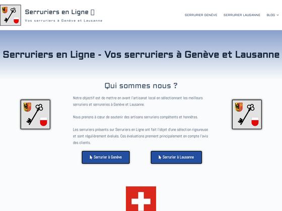 image du site http://serruriers-en-ligne.ch