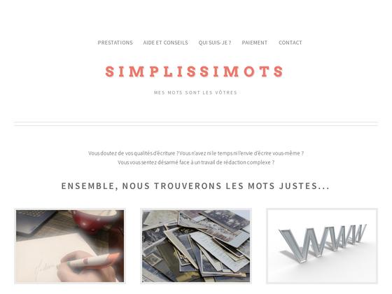 image du site http://simplissimots.com