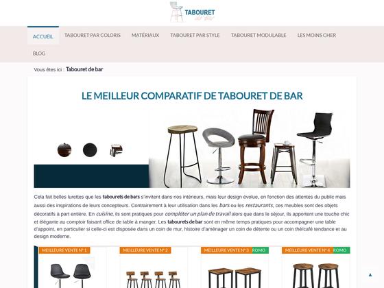 image du site http://tabouret-de-bar.net/