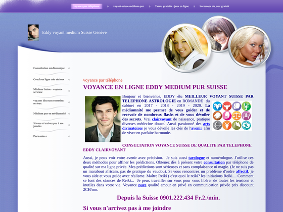 image du site http://voyance-suisse-eddy.ch