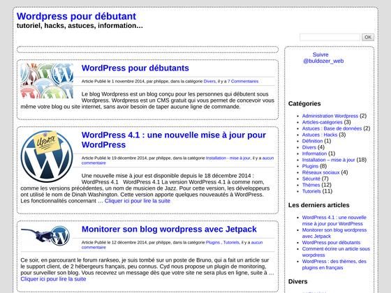image du site http://wordpress.buldozer.fr