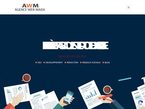 image du site http://www.agencewebmada.com