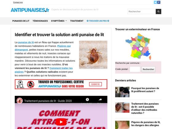 image du site http://www.antipunaises.fr/