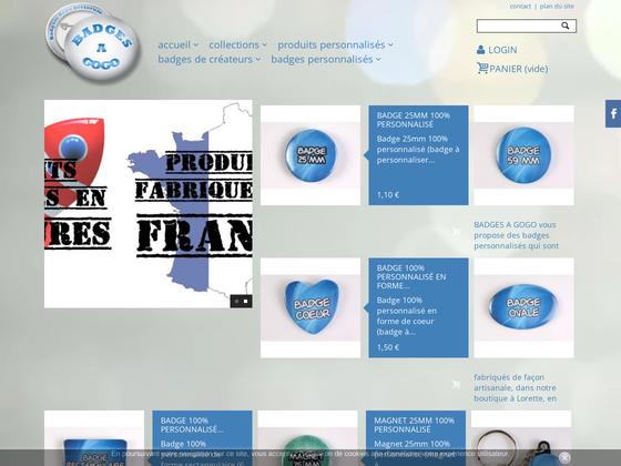 image du site http://www.badgesagogo.fr