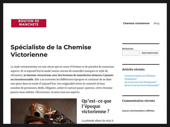 image du site http://www.bouton2manchette.fr/