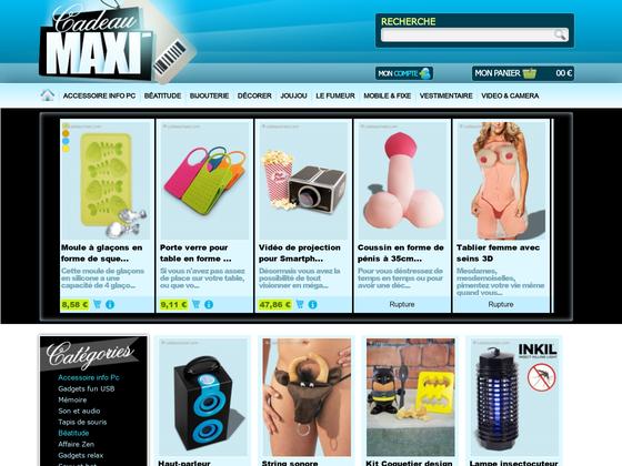 image du site http://www.cadeaumaxi.com
