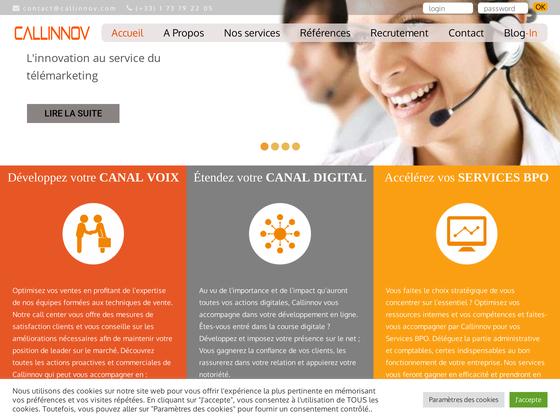 image du site http://www.callinnov.com/