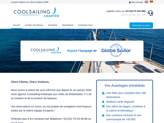image du site http://www.coolsailing.com