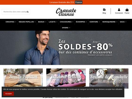 image du site http://www.cravate-avenue.com/