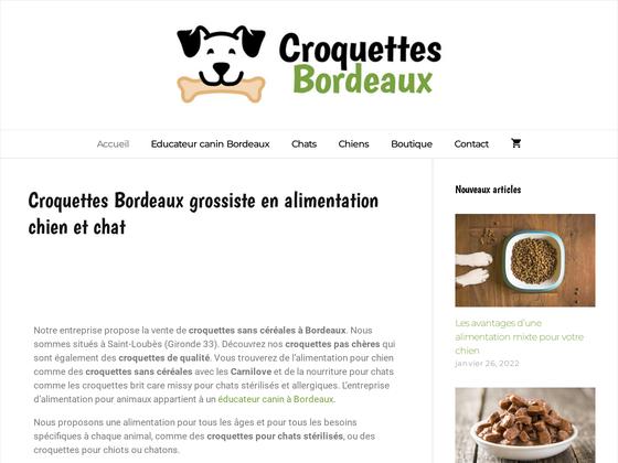 image du site http://www.croquettes-bordeaux.fr/