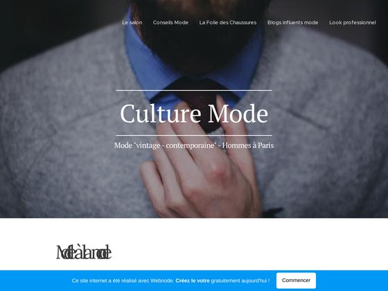 image du site http://www.culturemode.webnode.fr