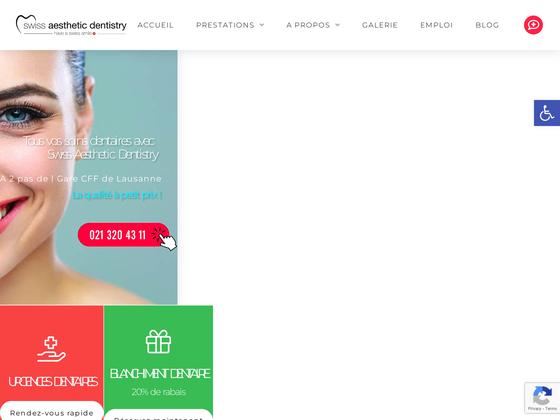 image du site http://www.dentiste-lausanne-vaud.ch