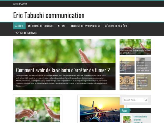 image du site http://www.erictabuchi.fr/