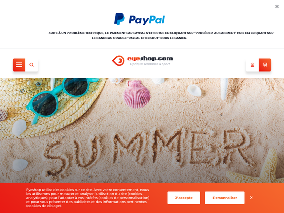 image du site http://www.eyeshop.com