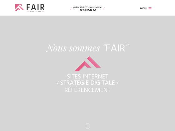 image du site http://www.fair-agenceweb.fr
