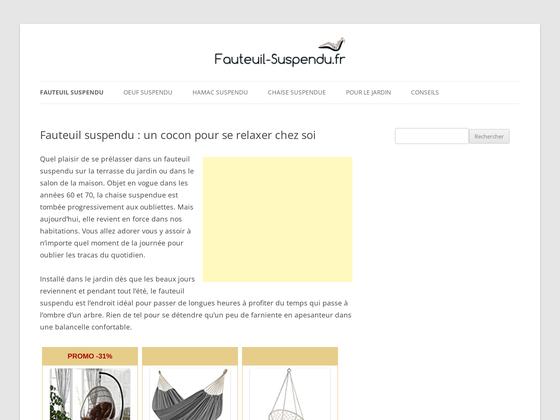 image du site http://www.fauteuil-suspendu.fr