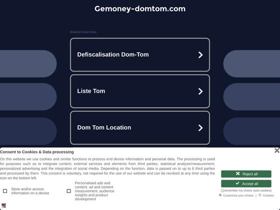 image du site http://www.gemoney-domtom.com/sorefi/