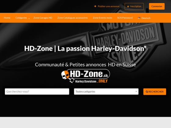 image du site http://www.hd-zone.ch