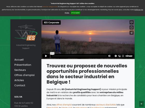 image du site http://www.ies-belgium.be/