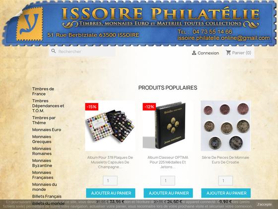 image du site http://www.issoire-philatelie.com
