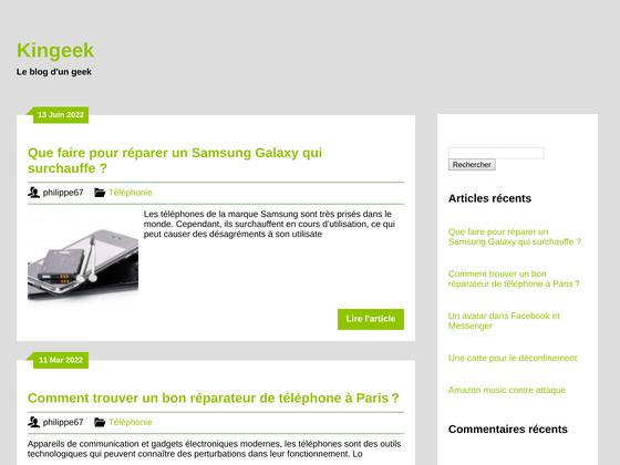 image du site http://www.kingeek.fr