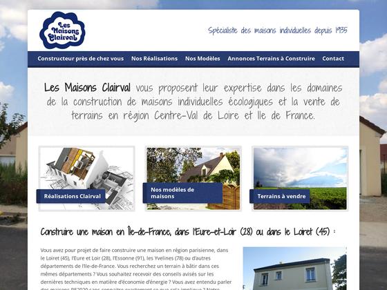image du site http://www.lesmaisonsclairval.com
