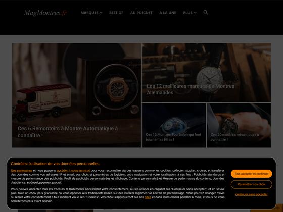 image du site http://www.magmontres.fr