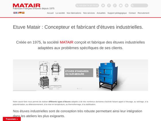 image du site http://www.matair.com