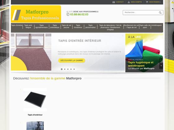 image du site http://www.matforpro.com